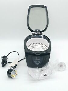 Delta Ultrasonic Ultra Sonic Jewellery Cleaner Cleaning 5 Step Timer 42KHz 600ml