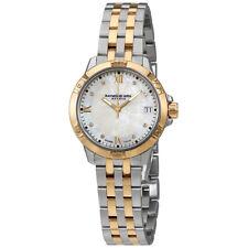 Raymond Weil Tango White Mother of Pearl Diamond Dial Ladies Watch