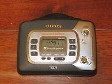RARE Aiwa/TX376 WALKMAN Personal Cassette Player Radio TESTED