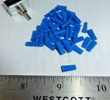 LOT OF BLUE COLOR PUSH-ON LEVER ACTUATORS FOR MINI TOGGLE SWITCHES S
