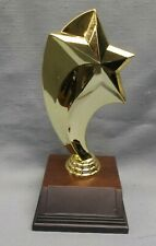 swoop STAR topper gold on weighted  base trophy award