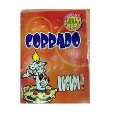COMPLEANNO biglietto musicale canta nome CORRADO e TANTI AUGURI A TE