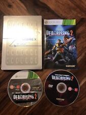 DEAD RISING 2 ZOMBREX STEELBOOK PS3 PLAYSTATION 3 GAME! WITH MANUAL, PAL UK