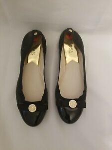Michael  kors Women's Black Flat Moccasin Size 9.5