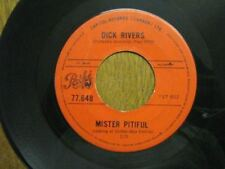 DICK RIVERS 45 TOURS CANADA mister pitiful