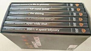 STANLEY KUBRICK DVD COLLECTION 6 Movies The Shining Clockwork Orange RARE set