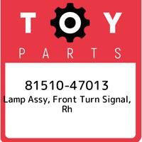 81510-47013 Toyota Lamp assy, front turn signal, rh 8151047013, New Genuine OEM
