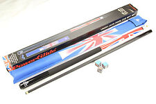 "57""  British Union Jack Flag 2 Piece Snooker Pool Cue and Case - Gift Set!"