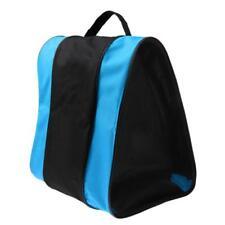 Inline Roller Skating Boots Bag Ice Hockey Skate Shoulder Carry Handbag Blue