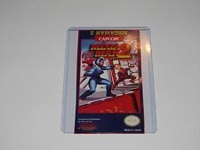 Megaman 2 mega man 2 Nes Cartridge Replacement Game Label Sticker Precut