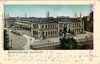 AK Braunschweig, Hauptbahnhof, Goldfenster, 1902, 19/08