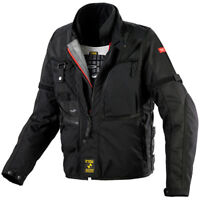 Spidi H2 Out Tech Motorcycle Jacket Black Medium