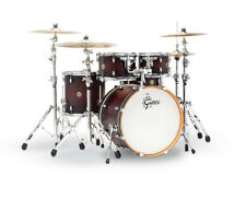 Gretsch Catalina Maple Cm1-e605-dcb Deep Cherry Burst 5pc Drum Kit