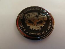 CHALLENGE COIN S2L SENTENCED TO LIFE IN THE END WE ONLY REGRET THE CHANCES WE DI