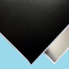 Black Suspended Ceiling Tiles Vinyl EasyClean Wipeable, 600mm x 600mm 6Tiles/Box