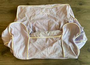 Pottery Barn Kids MY FIRST ANYWHERE Chair Lavender Purple W/Pipe SLIPCOVER COVER
