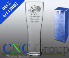 Personalised Engraved Aspen Pint Glass Golf Award Trophy Tournament Gift