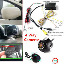 9-30V Car DVR Parking Panoramic View Rearview Camera System 360° View + 4 Camera