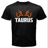 Taurus Firearms White Chest Logo T Shirt 2nd Amendment Pro Gun Rifle Pistol