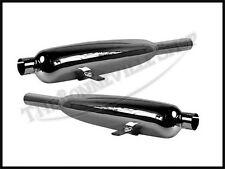 TRIUMPH T90 T100R T100S 350cc & 500cc SILENCER SET 1958-73 PN# 70-3935 70-3936
