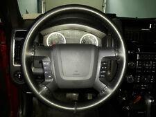 Wheelskins Leather Steering Wheel Cover Solid Black 17-18 Chevrolet Silverado