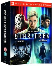 STAR TREK 2009+2013+2016 - MOVIES 11+12+13  DVD - INTO DARKNESS+BEYOND - NEW UK