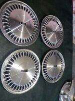 SET (4) LINCOLN,TOWN CAR, Continental, 15 in. HUB CAP WHEEL COVER  88-96 FACTORY