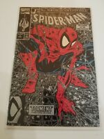 SPIDER-MAN#1 VF/NM 1990 TODD MCFARLANE (SILVER VARIANT) MARVEL COMICS