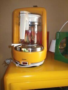 Krups Design Kaffeemaschine Typ 265  Druckbrühsystem Vintage Kult Orange