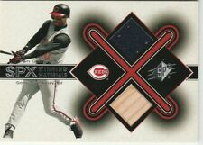 2001 SPx Winning Materials Bat / Jsy 2 cd lot #KG1 & 2 Ken Griffey Jr.  Mariners