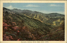 Newcastle Jamaika Karibik Vintage Postcard ~1920/30 British West Indies Panorama