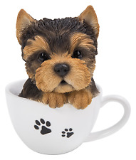 Vivid Arts-Pet Pals chiot dans tasse à thé & Yorkshire Box-Yorkshire Terrier
