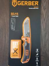 GERBER Bear Grylls SCOUT Knife Messer SURVIVOR Taschenmesser 176611 NEU