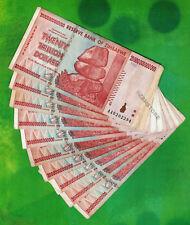 20 Trillion Zimbabwe Dollars x 10 Banknotes AA 2008 Currency - 10PCS Paper Money