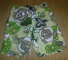 #8622 TIME TO SURF! HURLEY BOARD SHORTS MEN'S 34 PREOWNED