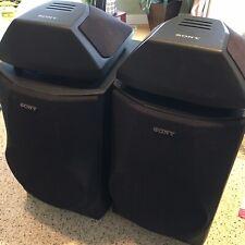 Sony Speaker System. Set Of 4