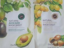 Set of 2- The Saem Natural Avocado And Shea Butter Mask Sheet