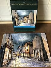 """Wentworth Wooden Jigsaw Puzzle - """"Church Street, Whitby"""" - 250 Pieces Complete"""