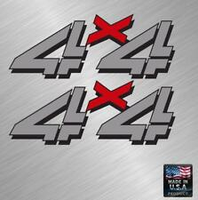 x2 4x4 Full Color Vinyl Decal Sticker Truck Chevy Silverado Gmc Bed Stripe Kit