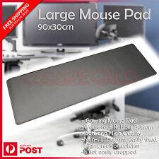 Large Mouse Pad PC Computer Desktop Gaming Keyboard Mat  Anti-Slip 90x30cm
