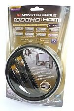 Monster 1000hd Ultimate High Speed HDMI Cable 17.8gbps 1m 3d Ethernet