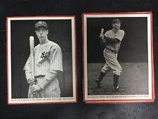 1930's Baseball Magazine Trimmed Lot Of 12 - Originals - Djf2193*b
