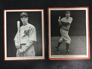 1930's Baseball Magazine Trimmed Lot Of 12   Originals   ARN2193*b