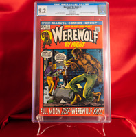 CGC 9.2 Werewolf by Night #1 WHITE PAGES Marvel Horror Mike Ploog Cover 1972