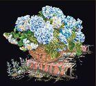 THEA GOUVERNEUR 2046.05 Hortensia azul Aida negro contado