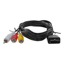 AV Cable for GameCube N64 SNES Nintendo Premium PAL TV RCA Video Lead ZedLabz