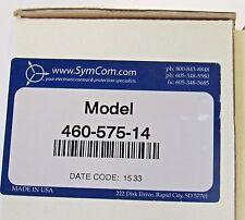 NEW SYMCOM 460-14 THREE PHASE VOLTAGE MONITOR 190-480VAC DIN RAIL MOUNT NIB