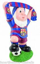 FC Barcelona Fanartikel Barca Gartenzwerg mit Schal dwarf 29 cm hoch Neuheit