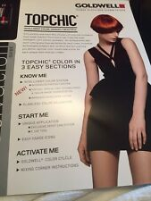 Goldwell Topchic Chart Hair Color Info Booklet