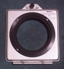Nikon # 780 AF-1 Silver-Grey 52mm Gelatin Filter Holder Used Good Condition